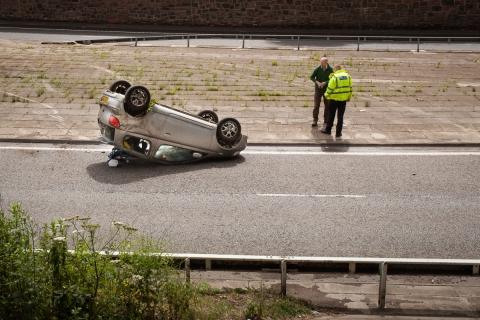Road Traffic Accident by Zeno Watson