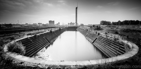 Old Clyde Docks By Zeno Watson-8126