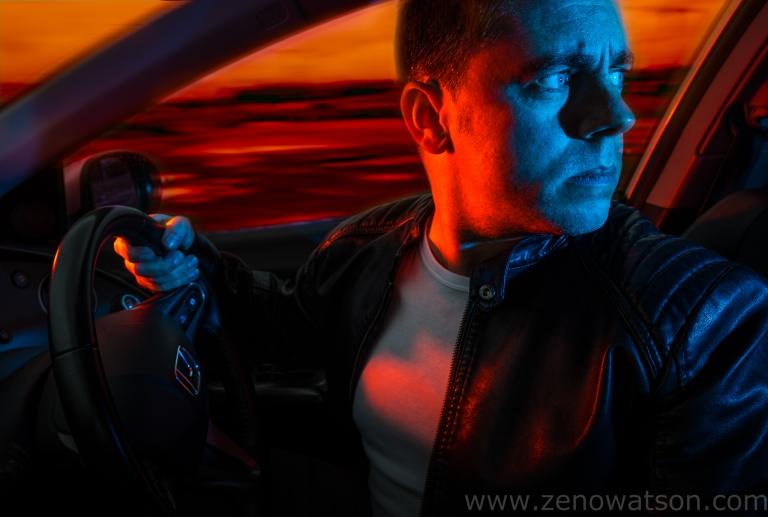 Self Portrait By Zeno Watson-