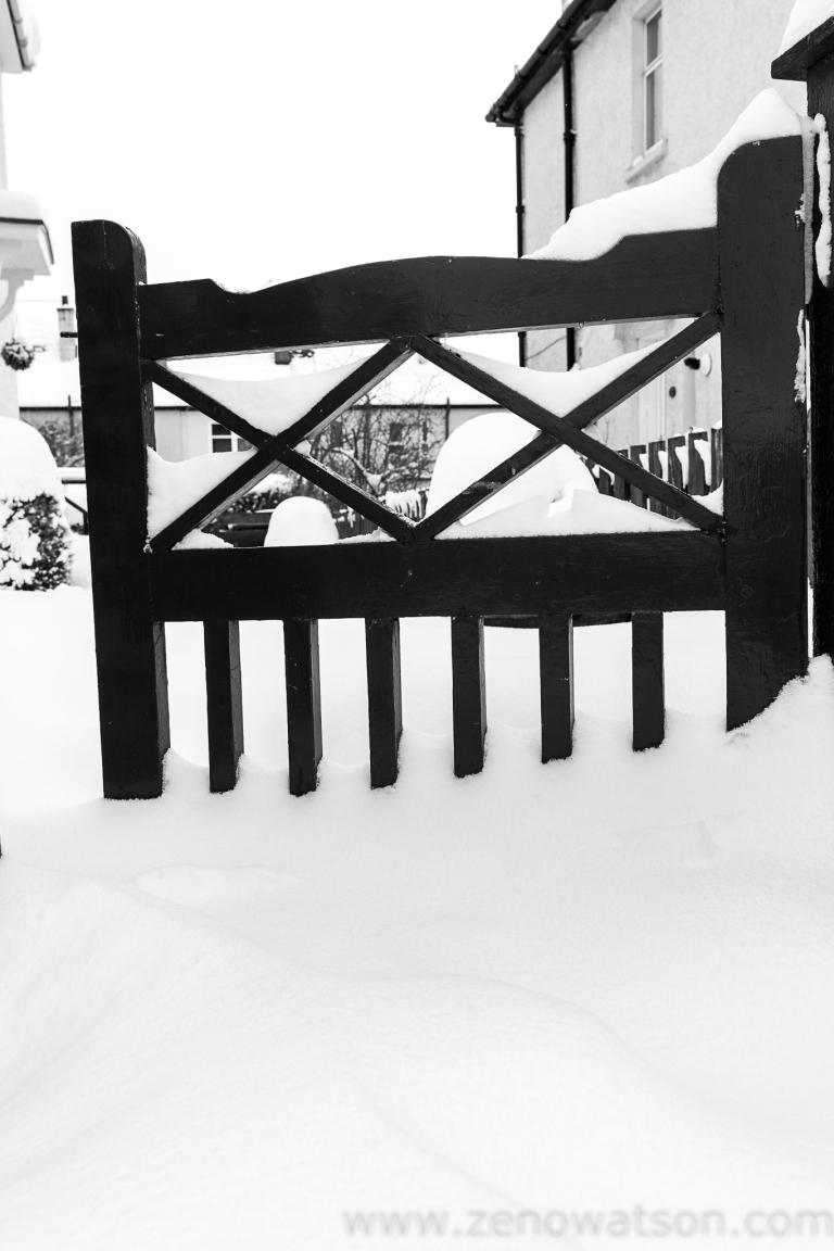 Snowfall in Scotstoun By Zeno Watson-3936